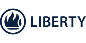 Liberty-Horizontal-Logo-Blue-Pantone